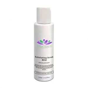 exfoliating scrub mild