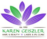 karen geiszler hair and beauty logo