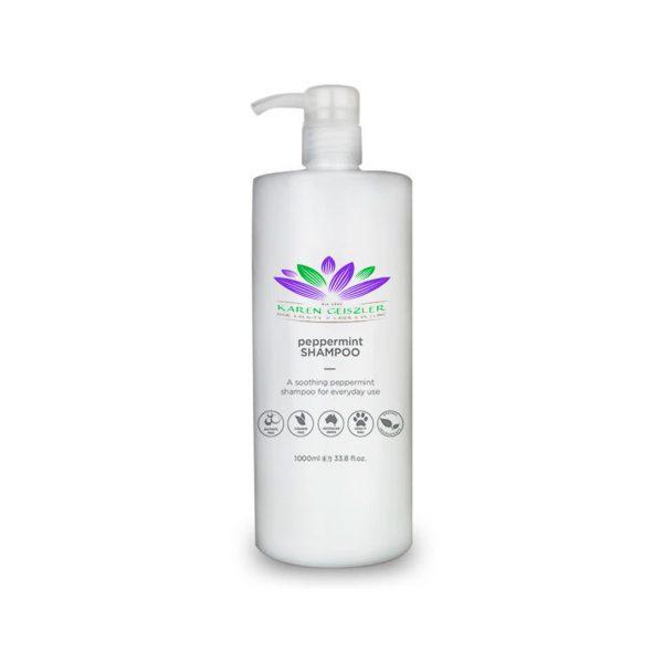 peppermint shampoo 1 litre
